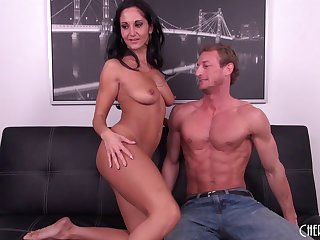 Chesty MILF Ava Addams gets lose concentration tight pussy slammed