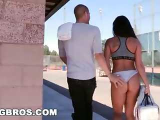 BANGBROS - Eyewitness Xander Corvus Make a mess Gianna Nicole In A Public Park!
