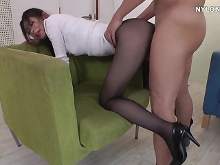 neighbour heels in pantyhose snobbish heels