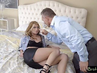 BrattySis - Daughter Wants Punish Fuck From Action Dad