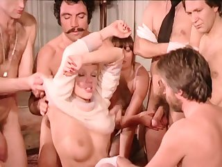 Vintage Sexual connection Orgy - French