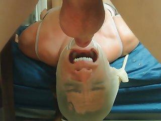 Encased Facefuck - Milf Abuse