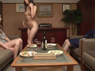 JAV Searching Donjon CFNF lesbian cunnilingus HD Subtitled