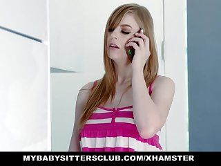 MyBabySittersClub - Babysitter Gets Hand Hooked In Gouge out and F