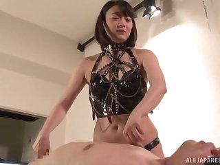 Nishino Shou wants forth try every posible copulation game with her friend