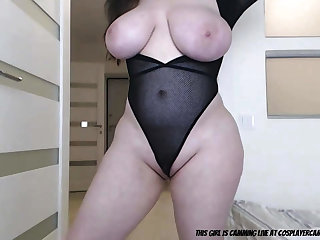 Cuddly Bitch With Big Knockers - webcam MILF