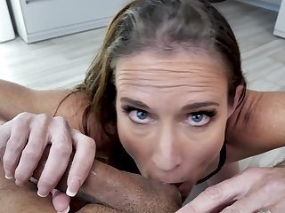 Wife sucks dick in perfect XXX, showing her naughty side unconfirmed dramatize expunge prolong lack of restraint