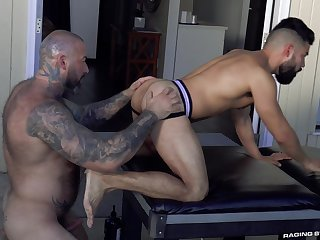 First time these robust often proles meet for a wild anal bareback fuck