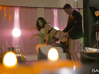 A fantastic pussy hardcore romance with a tight Asian piece of baggage