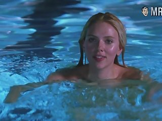 Scarlett Johansson swimming naked in the incorporate and looking sexy as hell