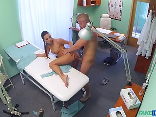 Hot generalized Mea Melone issues the most skilfully unconventional medical exam