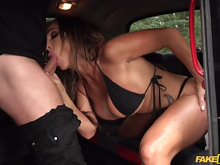 Insane back keister porn for this adorable MILF