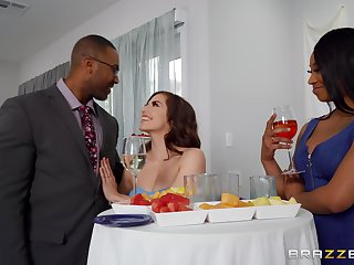 Stunning woman takes her first dose be useful to BBC